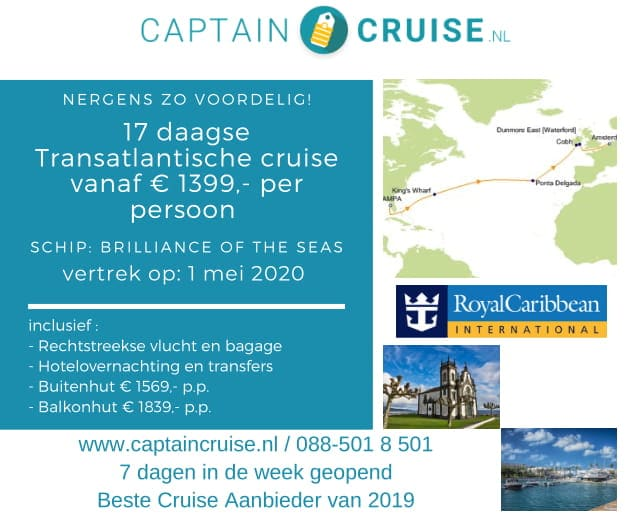 Captain Cruise Banner